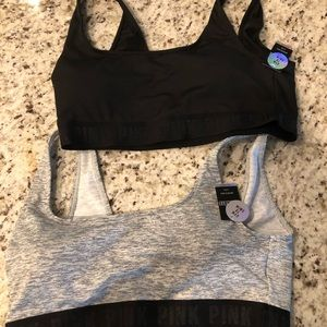 Victoria Secret Pink Sports Bras NWT